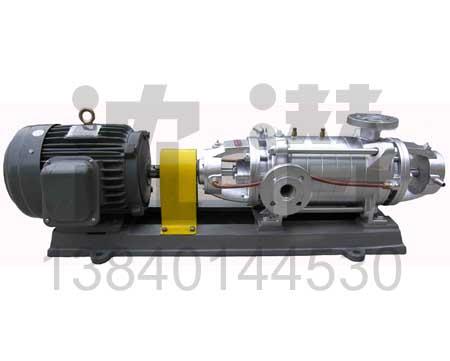 多级泵(18)